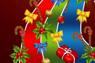 Christmas Card Background for Android, iPhone and iPad