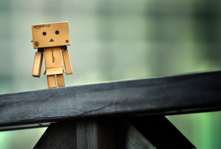 Lonely Danbo Picture for Android, iPhone and iPad