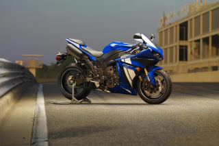 Yamaha R1 Motorcycle Background for Android, iPhone and iPad