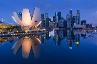 Singapore in Southeast Asia Background for Android, iPhone and iPad