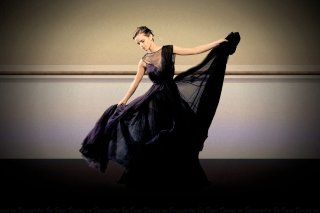 Emma Watson Evening Dress Background for Android, iPhone and iPad