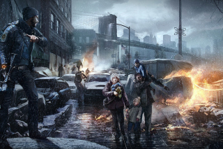 Free Tom clancys the division Picture for Android, iPhone and iPad