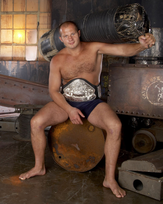 Fedor Emelianenko Picture for Nokia C2-05