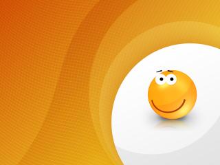 Orange Friendship Smiley para LG 900g