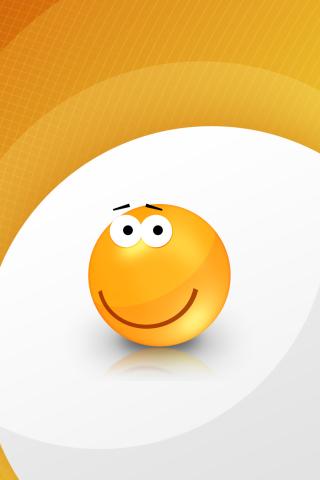 Orange Friendship Smiley para Huawei G7300