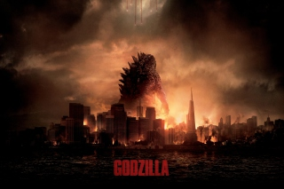 2014 Godzilla Wallpaper for Android, iPhone and iPad