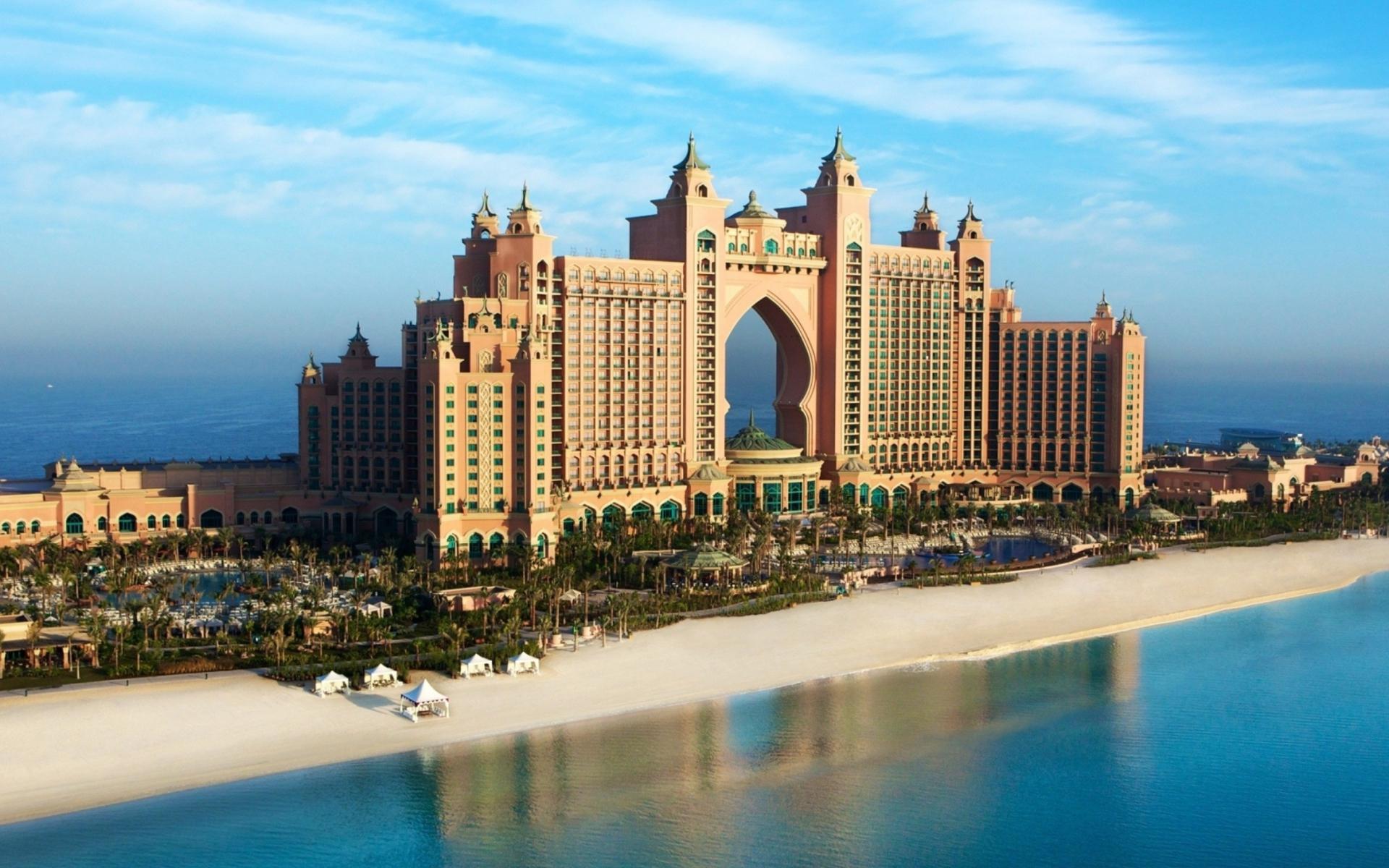 Palm Jumeirah Dubai para Widescreen Desktop PC 1920x1080 Full HD