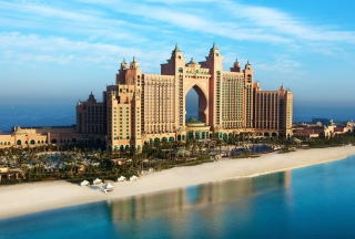 Palm Jumeirah Dubai Wallpaper for Android, iPhone and iPad