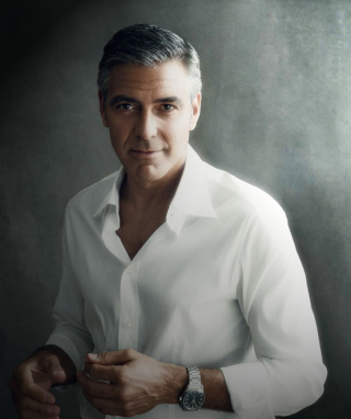 Free George Clooney Picture for 320x480