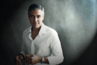George Clooney Background for 480x320