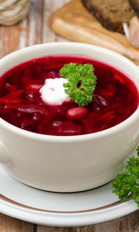 Russian Borscht wallpaper 480x800