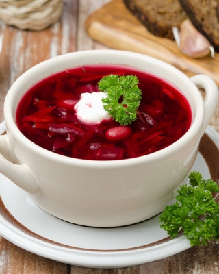 Russian Borscht Wallpaper for 480x800