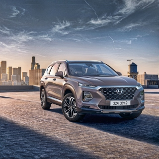 Hyundai Santa Fe Background for iPad