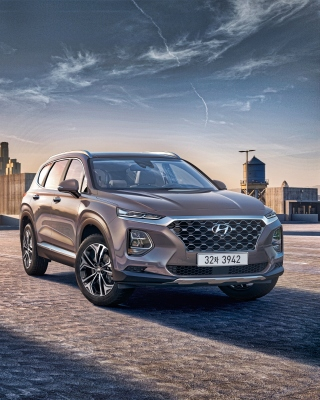 Hyundai Santa Fe Wallpaper for Nokia 5800 XpressMusic