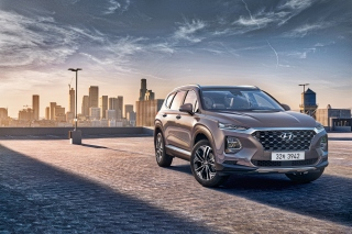 Hyundai Santa Fe Background for 1920x1200