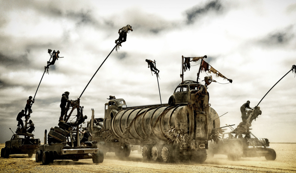 Screenshot №1 pro téma Mad Max fury Road 1024x600