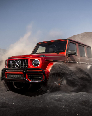 2019 Mercedes AMG G63 Picture for 240x320