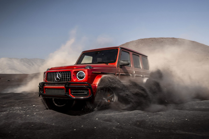 2019 Mercedes AMG G63 wallpaper