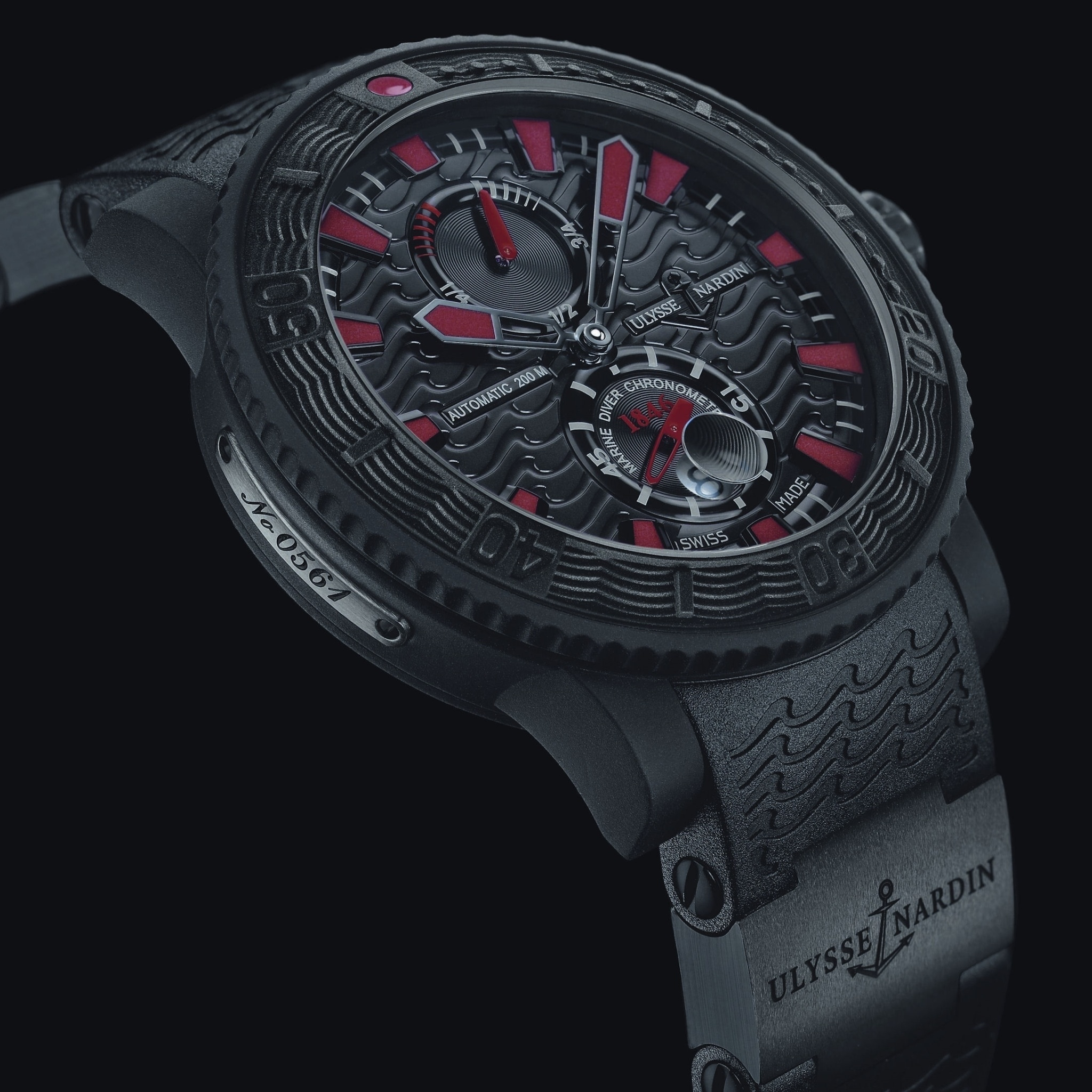 Screenshot №1 pro téma Watch Ulysse Nardin Black Sea 2048x2048