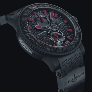 Watch Ulysse Nardin Black Sea sfondi gratuiti per iPad mini