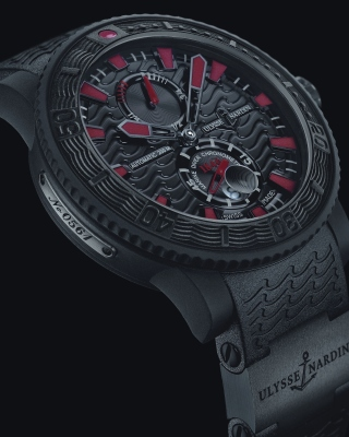 Watch Ulysse Nardin Black Sea Wallpaper for Nokia C2-02