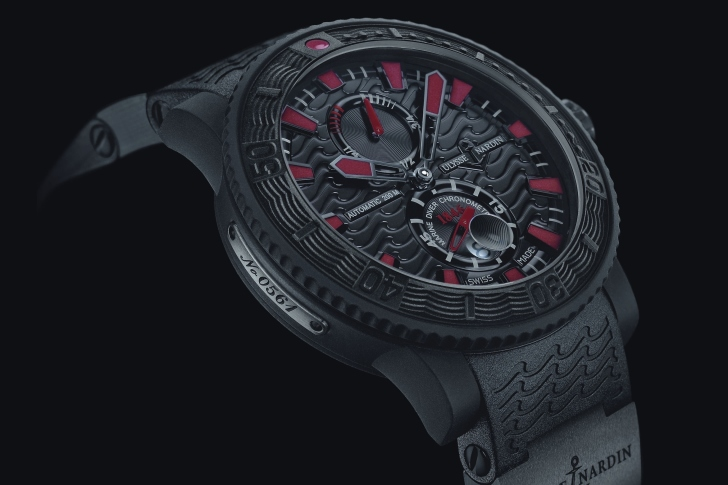 Screenshot №1 pro téma Watch Ulysse Nardin Black Sea