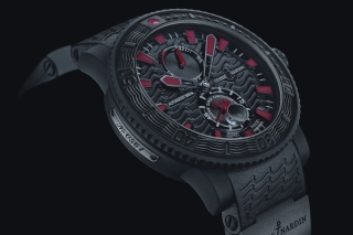 Watch Ulysse Nardin Black Sea Background for Android, iPhone and iPad