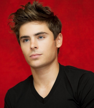 Zac Efron Background for iPhone 6 Plus