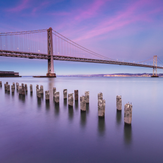 San Francisco Bay Bridge sfondi gratuiti per iPad mini