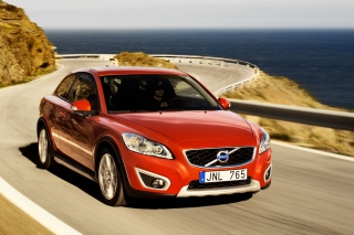 Free Volvo C30 Red Picture for Android, iPhone and iPad