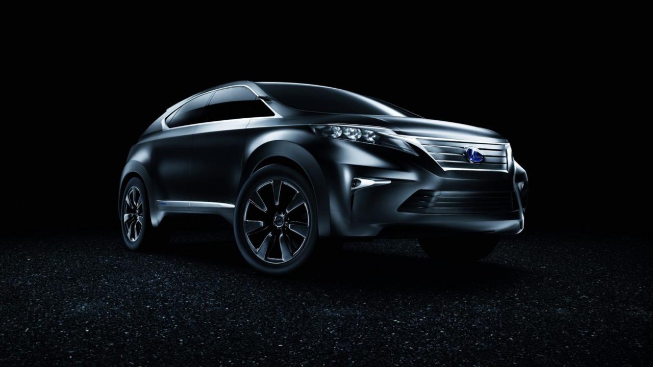 Lexus Lf Xh Concept
