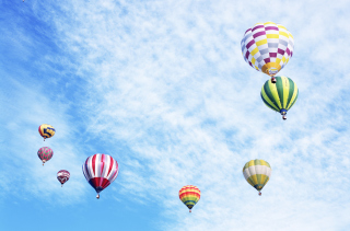 Air Balloons Background for Android, iPhone and iPad