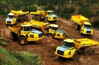 Free Volvo Tippers Picture for Android, iPhone and iPad