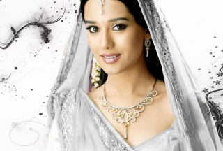 Amrita Rao In White Saree sfondi gratuiti per cellulari Android, iPhone, iPad e desktop