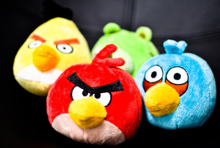 Angry Birds Toy Picture for Android, iPhone and iPad