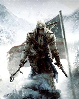 Kostenloses Assassins Creed III Wallpaper für iPhone 5