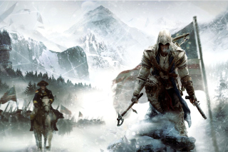 Assassins Creed III Background for Android, iPhone and iPad