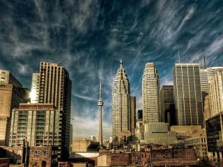 Toronto - Canada Landscape para Nokia Asha 201