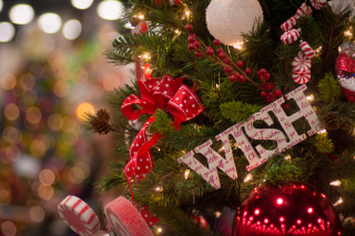 Free Best Christmas Wishes Picture for 1080x960