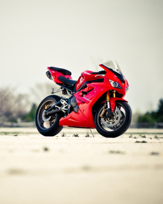 Triumph Daytona 675 Sport Bike Wallpaper for Nokia C1-01
