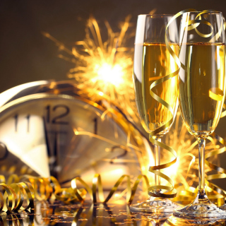 Happy New Year Countdown sfondi gratuiti per iPad mini