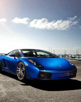 Lamborghini Gallardo Supercar Picture for Nokia Asha 311