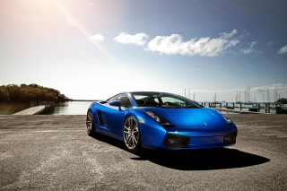 Free Lamborghini Gallardo Supercar Picture for Android, iPhone and iPad