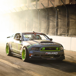 Ford Mustang GT Drift Background for iPad mini