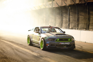 Ford Mustang GT Drift Wallpaper for Android, iPhone and iPad