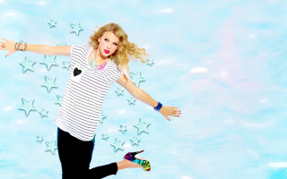 Free Taylor Swift Picture for LG Optimus U