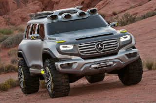 Mercedes Ener-G-Force Off-Road Concept Background for Android, iPhone and iPad