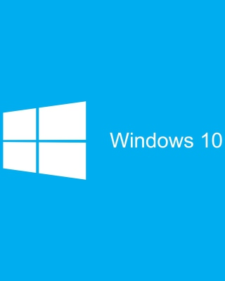 Blue Windows 10 HD Picture for 480x800