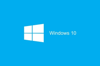 Blue Windows 10 HD papel de parede para celular