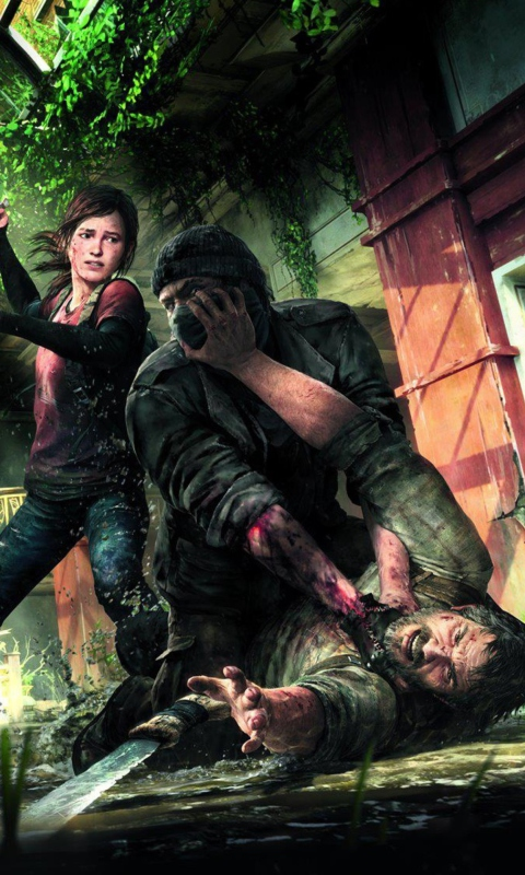 The Last of Us PlayStation 3 wallpaper 480x800